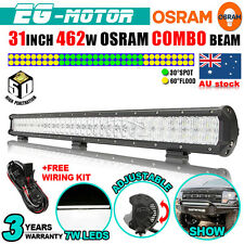 "31"" 462W OSRAM 5D LED WORK LIGHT BAR SPOT FLOOD COMBO LAMP 4X4 120/240/300/500W"