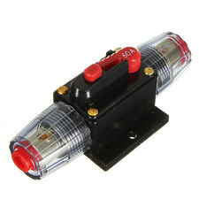 12V DC Car Audio Inline Circuit Breaker Fuse for System Protection 60A 60 AMP
