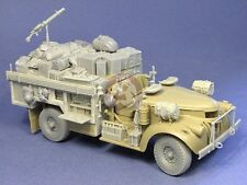 Resicast 1/35 Chevrolet LRDG 30 cwt Early Radio Update & Stowage (Tamiya) 352344