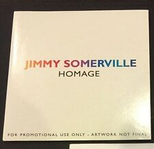 Jimmy Somerville HOMAGE album us promo rare CD