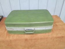 samsanite Luggage -Vintage green Suitcase Hard Case Luggage