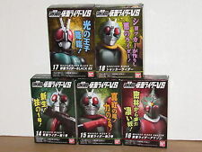 Bandai Kamen Rider VS Shodo Wave 4 Set of 5: 1,2,Amazon,Black RX,Shocker masked