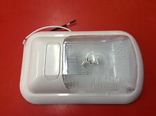 Clear Single Ceiling Pancake Trailer Camper Interior Dome Light 12 Volt Cabinet