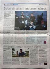 Le JDD 09/2012: BOB DYLAN_MARC LAVOINE_SEBASTIEN GROSJEAN_ZEP_PIERRE ARDITI