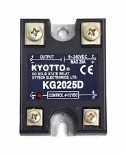 1pc KYOTTO DC Solid State Relay SSR KG2025D 5-220VDC 25A [ DC in to DC out ]