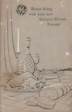 1950 Booklet GE Manual Only Better Living  General Electric Freezer Louisville