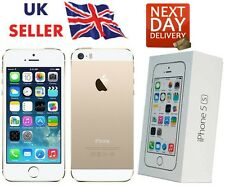 NUOVO iPhone 5S GOLD 32GB Apple Brand Sbloccato SIM GRATIS SMART PHONE sigillato BOXED