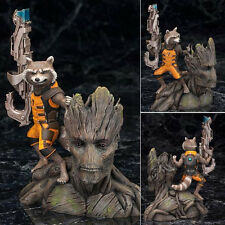 Marvel Legends LOOSE Guardians of the Galaxy Groot Rocket Raccoon Figure 15cm