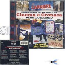 """PINO DONAGGIO """"CINEMA E CRONACA"""" RARE CD ITALY - OST"""