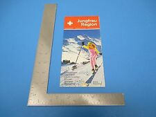 International Travel Brochure Switzerland Jungfrau Region Wintersport S890