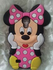 Silicone Cover per cellulari MINNIE2 PINK para SAMSUNG GALAXY S4 MINI