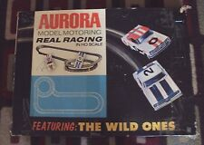 "Aurora HO Model Motoring ""Wild Ones"" Racing Set #1990 Nice Mustang Camaro OOP"