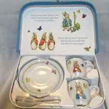 PETER RABBIT TEA PARTY SET for TWO