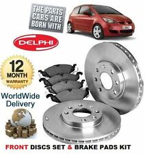 FOR MITSUBISHI COLT 1.1 1.3 1.5 CAB 2004-  FRONT BRAKE DISCS SET & DISC PADS KIT