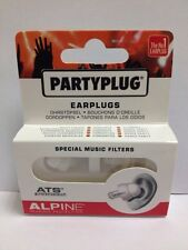 Alpine Partyplug Ear plugs with Special Music Filters-Cheapest Price on eBay