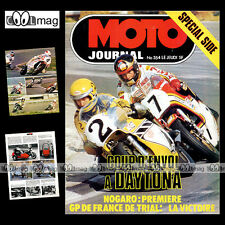MOTO JOURNAL N°354 MARTIN LAMPKIN KENNY ROBERTS PUCH 125 CROSS SIDE-CAR 1978