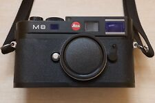 Leica M M8 10.3MP Digital Camera - Black (Body only)