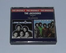 "THE JACKSONS  "" TRIUMPH  +  THE JACKSONS  "" 2 CD (Coffret) Can You Feel It ++"