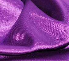 """Satin Charmeuse Solid BARNEY 60"""" wide / Sold by the Yard"""