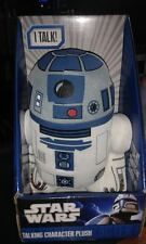 "STAR WARS R2D2  9"" TALKING CHARACTER PLUSH TOY - New In Display Box"