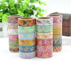 1 Pc Cute Pattern Washi Tape DIY Decor Sticky Stationery Adhesive Sticker Cheap