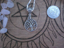 Witch Tree of Life Necklace  Silver