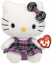 Hello Kitty Baby 15cm peluche costume violet DOUDOU CADEAU NEUF 7140901