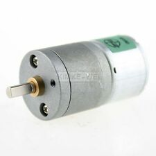 3V DC 17RPM High Torque Electric Gear Box Motor