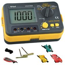 New VICI VC4105A LCD Digital Earth Ground Resistance/Voltage Tester Meter B0410