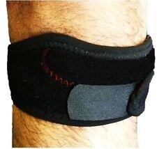 M/L Neoprene Adjustable Patella Tendon Jumpers Knee Brace Support Strap Wrap Gym