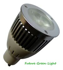 GU10 8W LED 240V HIGH POWER 450LM NATURAL WHITE BULB ~50W