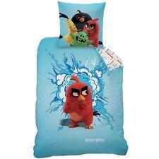 """Ropa de cama inflexión set angry birds 135x200 80x80cm """"red"""" 100% algodón 043641"""
