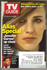 JENNIFER GARNER ALIAS TV Guide Magazine 11/29/03 WHOOPI GOLDBERG ART CARNEY PC