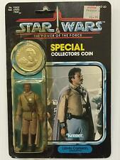 Star Wars POTF Lando Calrissian General Pilot (Y) 92 Back Severe Damage