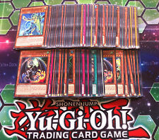 YUGIOH LOTTO 100 CARDS pacchetto include 25 carte Rare o superiore per la vendita