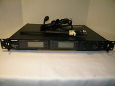 Shure UR4D Dual Wireless Receiver Frequency L3 638-698