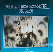 2 LP Neerlands Mooiste Koren ,MINT- Top,Te Deum 2 TD 6037/38D Holland 1987 ,Rar
