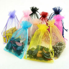 30pcs Organza Jewelry Packing Pouch Wedding Favor Gift Bags 7*9cm Mixed