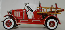 Pedal Car 1920s Ford Truck Fire Engine Red Vintage Midget Metal Show Model Art
