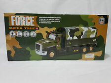 RC Remote Control Electric Armed Military Carrier  truck  toy vehicle kids toy