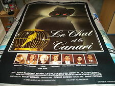 AFFICHE   BLACKMAN / FOX / LE CHAT ET LE CANARI