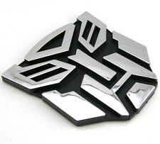 3D Logo Autobot Transformers Emblem Badge Decal Car Sticker
