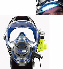 Ocean Reef Neptune Space G.divers Full GMS Radio Visor Light Diving Mask ML CB