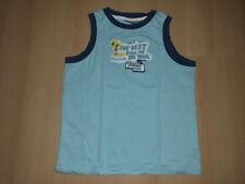 T-Shirt für Jungen@Basic-Shirt @Gr. 134/140@Tank-Top Big Wave von MEXX@w. NEU