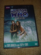 DOCTOR WHO FACE OF EVIL TOM BAKER YEARS 1974-1981 2012 DVD REGION 1 NEW RARE OOP