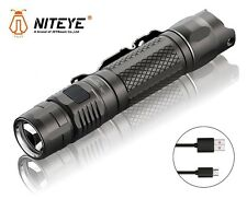 New Jetbeam Niteye MS-R25 Cree XP-L 1200 Lumens USB Charge LED Flashlight
