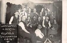 Neundorf/Plauen Kegelklub 1927 Original Aufnahme