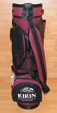 KIRIN Symbol of Good Fortune & Great Beer Golf Bag By Belding Sports **NEW**