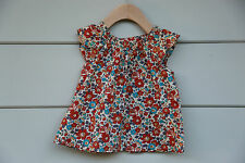 2T Bonpoint Liberty summer blouse 100% cotton Incredible details