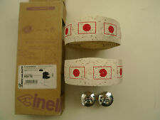 Vintage NOS Classic Cinelli Japanese/Nippon flag white cork bar tape/ plugs RARE